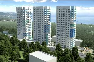 "В Сочи стартовали продажи квартир в  ЖК ""Три капитана"""