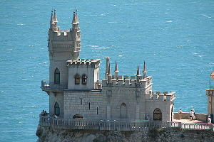 """""""Ласточкино гнездо"""" в Крыму закроют для туристов на время реконструкции"""