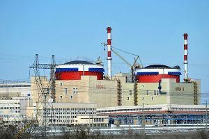 Один из энергоблоков Ростовской АЭС остановили из-за регламентных работ