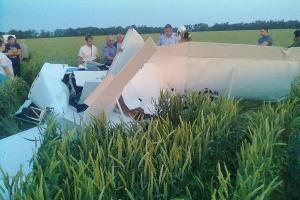 На Ставрополье разбился легкомонторный самолет
