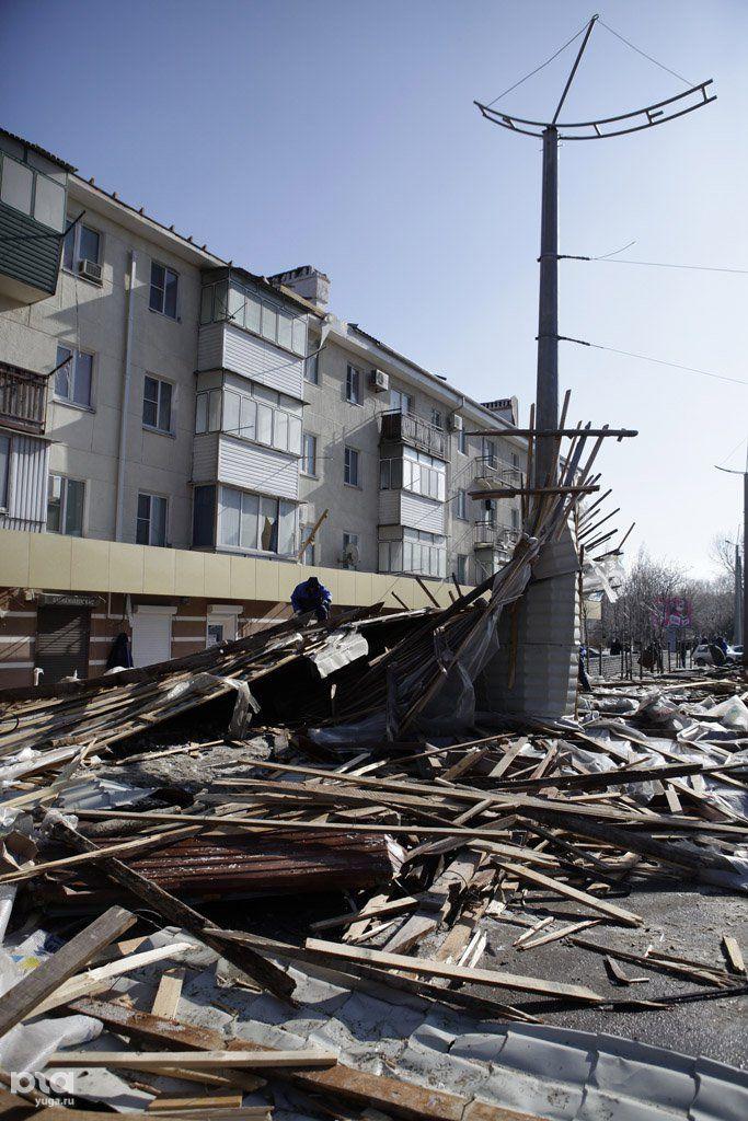 в новороссийски ураган фото