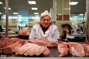 В Крыму из-за карантина по АЧС запретили торговать свининой на рынках