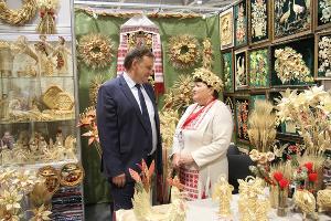 """Кореновские фермеры представили свою продукцию на """"Кубанской ярмарке"""""""