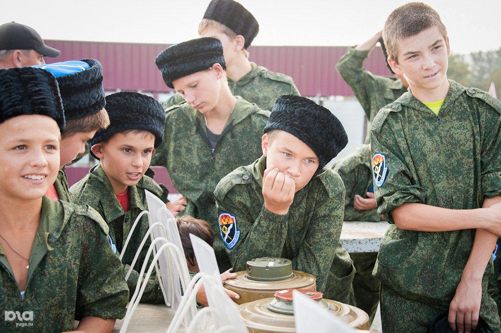 Казаки майкопского казачьего отдела приняли участие в праздновании десятой годовщины