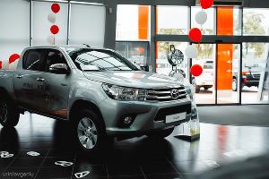 """В """"КЛЮЧАВТО"""" презентовали пикап Toyota Hilux"""