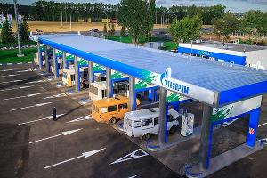"""""""Газпром газомоторное топливо"""" расширит сеть автомобильных газонаполнительных компрессорных станций"""