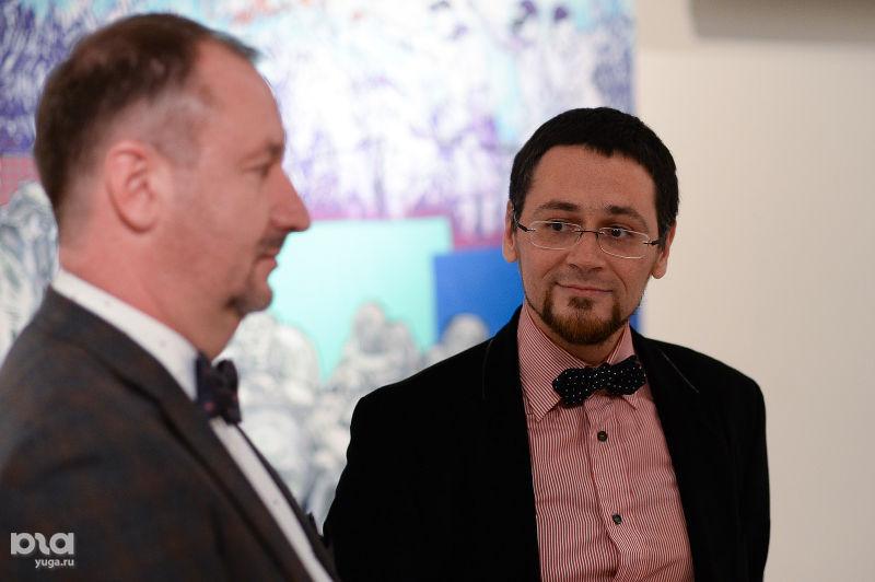 Олег Гончаров и Роман Левицкий ©Фото Юга.ру
