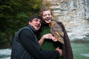 А можно сфотографироваться с совой Антоном или местным жителем ©Елена Синеок, ЮГА.ру