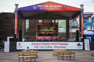 Фанаты на чемпионате мира по футболу в Ростове-на-Дону ©Фото Елены Синеок, Юга.ру