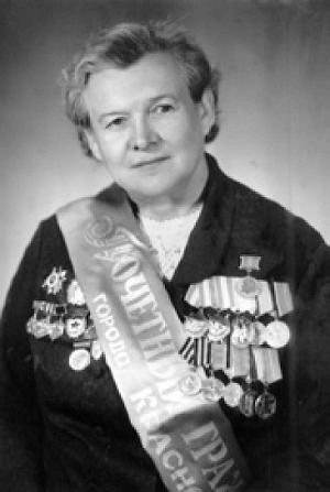 Почетный гражданин Краснодара Евдокия Бершанская