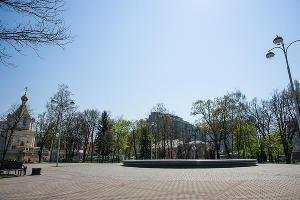 Краснодар, сквер им. Жукова ©Фото Евгения Мельченко, Юга.ру