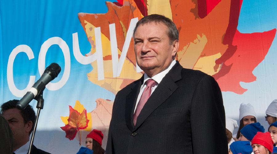 Анатолий Пахомов ©Фото пресс-службы администрации Сочи