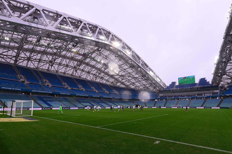 Матч в Сочи прошел без болельщиков ©Фото пресс-службы ФК «Краснодар»