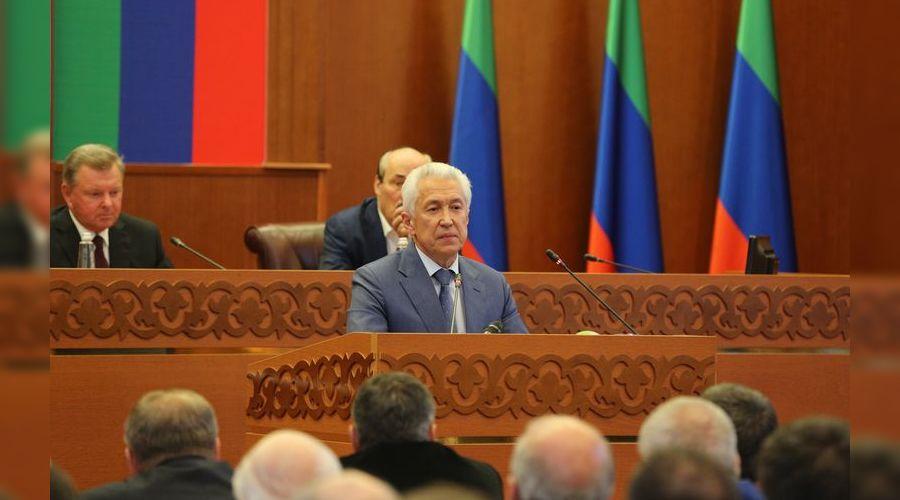 Владимир Васильев ©Фото пресс-службы главы и правительства Республики Дагестан