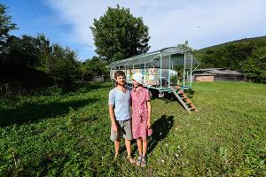 Павел и Виктория Хомяковы ©Фото Елены Синеок, Юга.ру