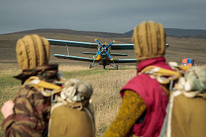 Ставропольские кадеты совершили прыжки с парашютом ©Эдуард Корниенко, ЮГА.ру