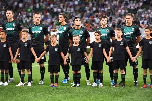 Матч «Краснодар» — «Олимпиакос», Краснодар, 27 августа 2019 года ©Фото Елены Синеок, Юга.ру