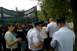 """©Скриншот видео из паблика """"Типичная Каневская"""", vk.com/tipa_kanevskaya?"""