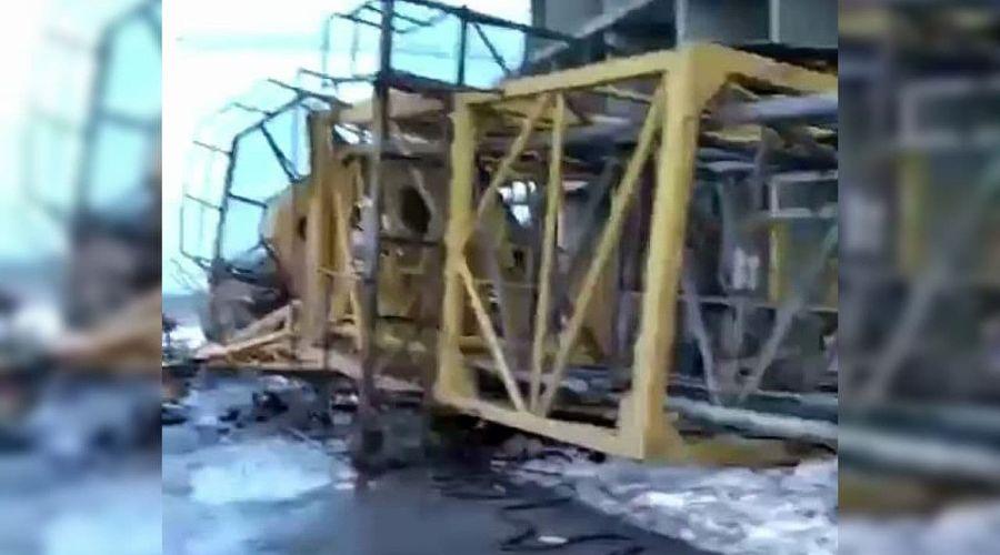 ©Скриншот видео из телеграм-канала «ЧП Краснодар», tmtr.me/chp_krd
