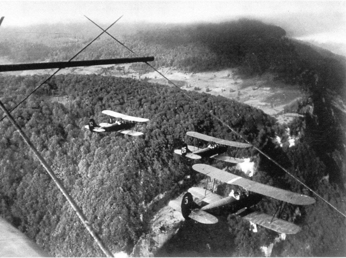 Группа У-2 летит на задание