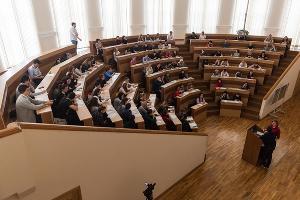 «Тотальный диктант» в Краснодаре  ©Фото Евгения Резника, Юга.ру