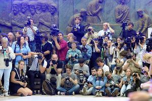 """Показ благотворительного фонда """"Русский силуэт"""" на ММКФ-2012 ©Елена Синеок. ЮГА.ру"""