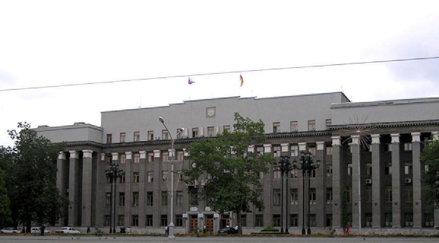 Дом правительства Северной Осетии. Фото: Sergej's photo album at Flickr.Com ©Фото Юга.ру