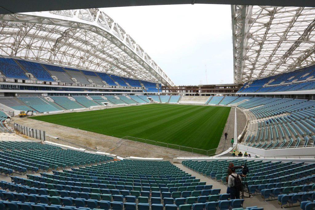Стадион «Фишт» ©Фото пресс-службы Министерства физической культуры и спорта Краснодарского края