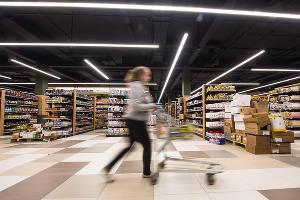 Супермаркет «Табрис» в Юбилейном микрорайоне ©Елена Синеок, Юга.ру