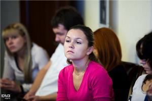"""Круглый стол """"Банки и девелоперы: от инвестиций до ипотеки"""" в Краснодаре ©Татьяна Шахунова, ЮГА.ру"""