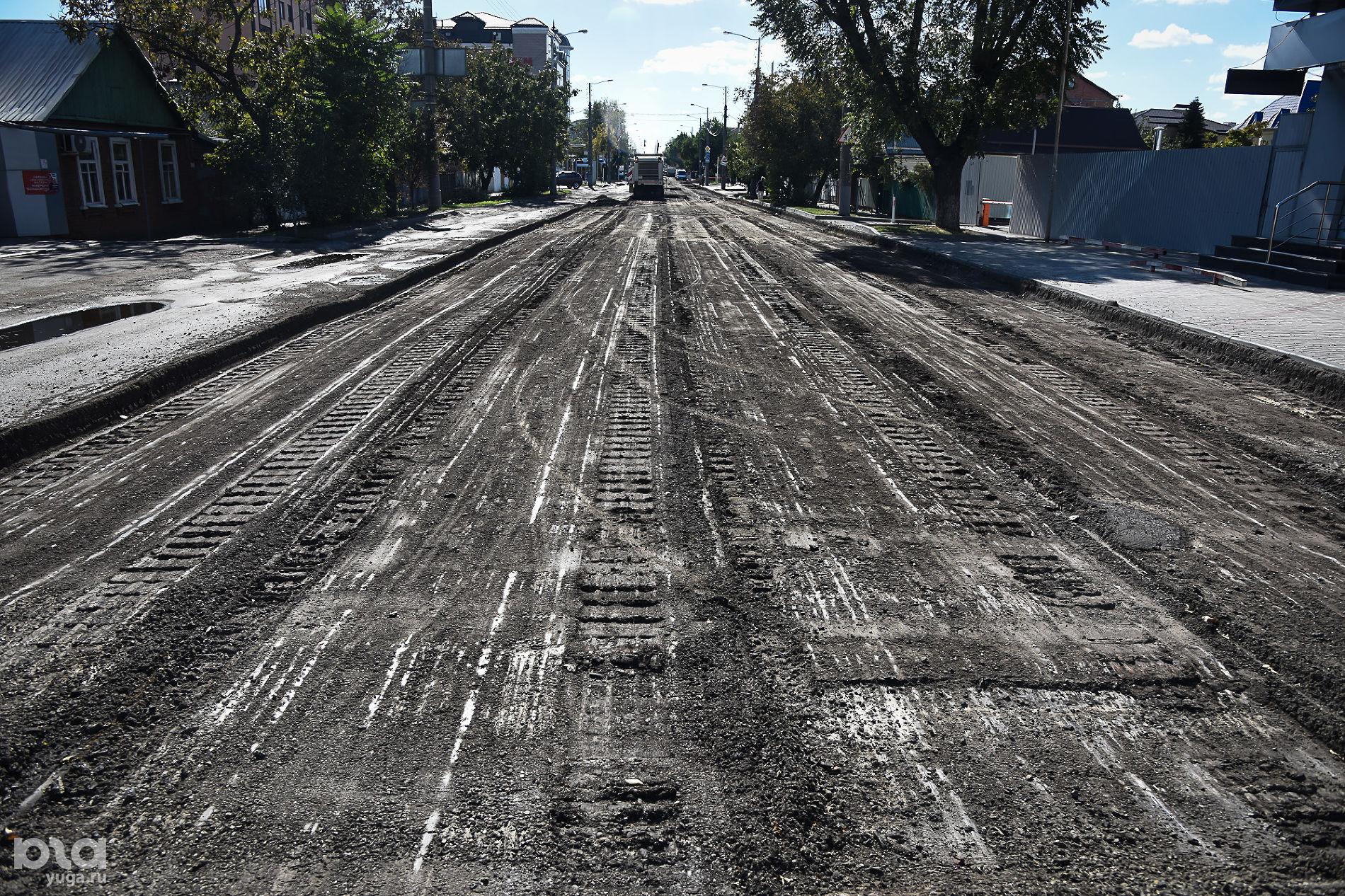 Ремонт улицы Тургенева в Краснодаре ©Фото Елены Синеок, Юга.ру