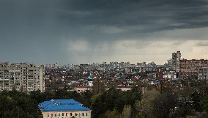 В Краснодаре будет дождь и 16 °С