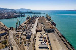 Новороссийский морской торговый порт ©Изображение пресс-службы НМТП, vk.com/nmtport