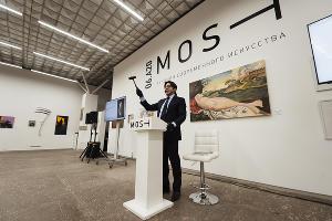 Андрей Малахов на аукционе MOST 2020 ©Фотография предоставлена организатором аукциона MOST