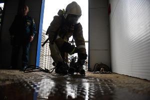 Соревнования среди подразделений пожарной охраны Краснодарского края ©Фото Елены Синеок, Юга.ру