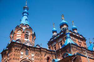 Свято-Георгиевский храм, Краснодар ©Фото Елены Синеок, Юга.ру