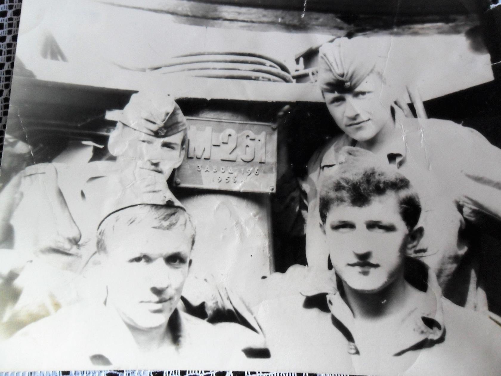 Экипаж ПЛ М-261 ©Фото из личного архива Михаила Васильченко