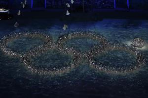 Церемония закрытия XXII Зимних олимпийских игр в Сочи ©Фото Юга.ру