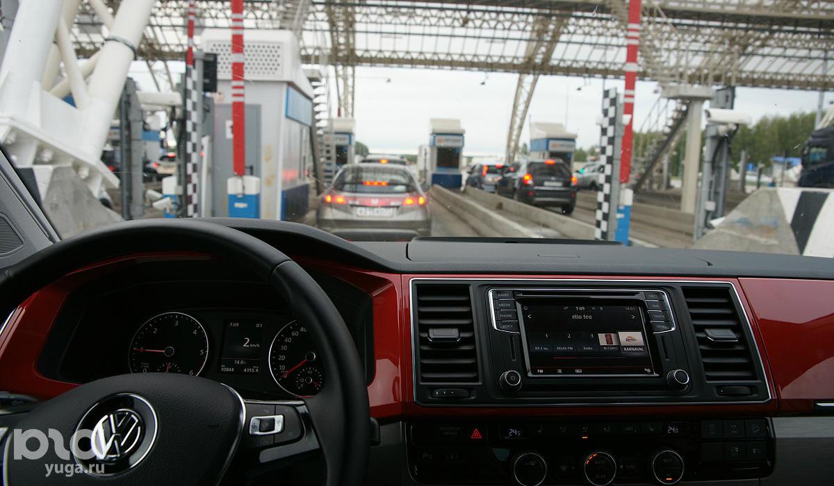 Платные терминалы трассы М4 ©Фото Евгения Мельченко, Юга.ру