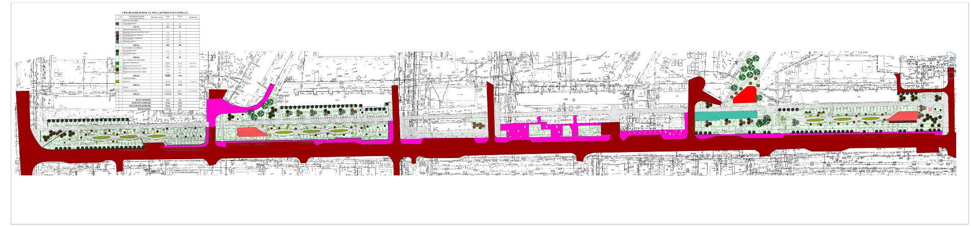 Гагаринский бульвар ©Схема пресс-службы администрации Краснодара