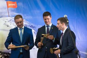 Открытие логистического комплекса компании Stihl в Краснодаре ©Фото Елены Синеок, Юга.ру