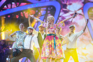 """Закрытие фестиваля """"Новая волна"""" в Сочи ©Нина Зотина, ЮГА.ру"""
