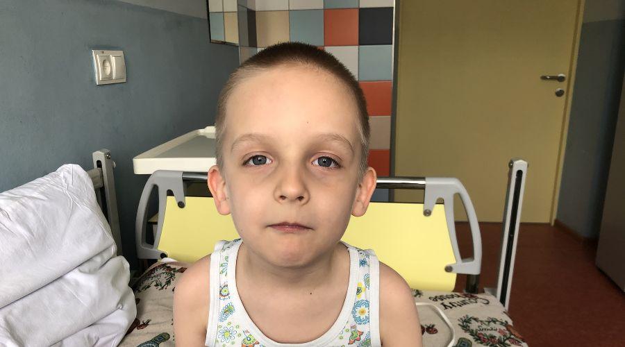 Саше Белькевичусу из Энема 6 лет и у него СМА ©Фото предоставлено пресс-службой благотворительного фонда «Русфонд»