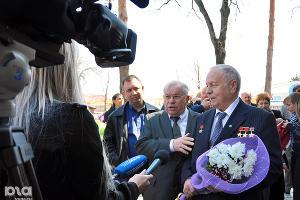 Космонавты в Краснодаре ©Фото Юга.ру