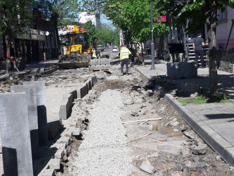 В Краснодаре еще на две недели отложили открытие улицы Чапаева