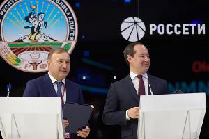 Мурат Кумпилов и Павел Ливинский ©Фото пресс-службы главы Республики Адыгея
