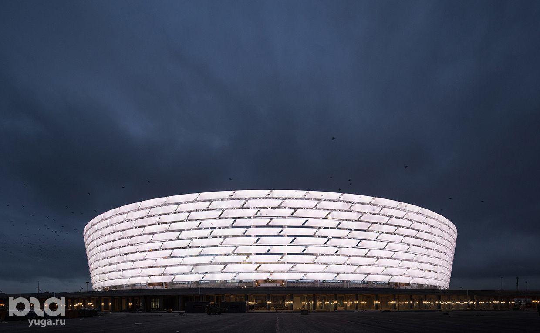 Бакинский олимпийский стадион ©фото с сайта stadiumdb.com