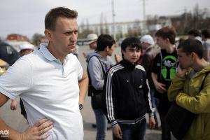 Митинг в поддержку экс-кандидата в мэры Астрахани Олега Шеина ©Фото Михаила Мордасова, Юга.ру