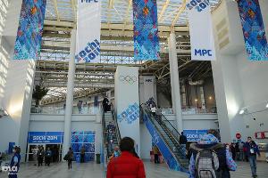 Холл. Здесь располагаются стойки информации и буфет ©Елена Синеок, ЮГА.ру