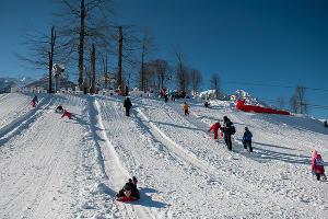 Международный день снега в Красной Поляне ©Нина Зотина, ЮГА.ру